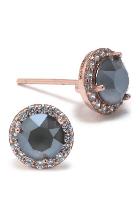 Belk Silverworks Boxed Dark Gray Swaroski Crystal with