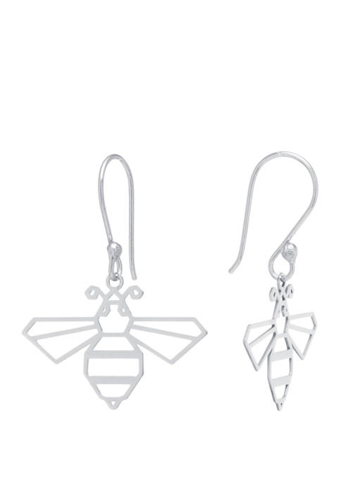 Belk Silverworks Sterling Silver Laser Cut Bumblebee Drop