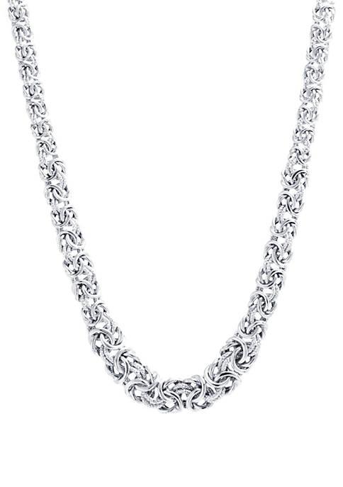 Belk Silverworks Sterling Silver 18 in Diamond Cut