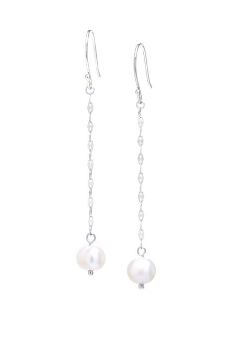 Belk Silverworks Sterling Silver Fresh Water Pearl Drop