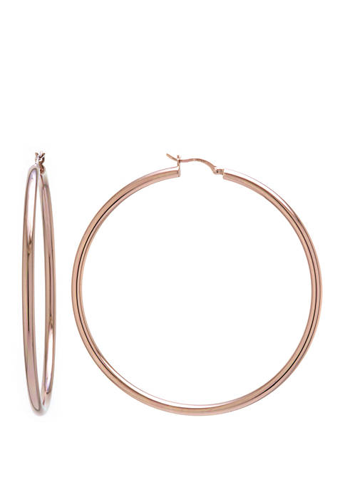 Belk Silverworks Rose Gold Over Sterling Silver 3