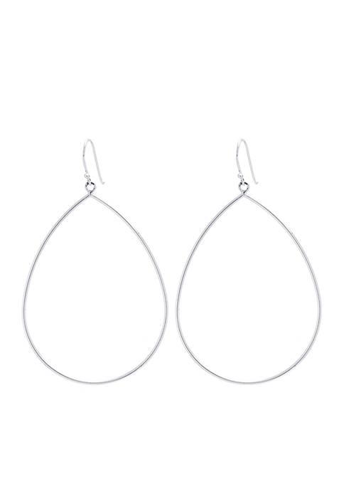 Belk Silverworks Sterling Silver Teardrop Earrings