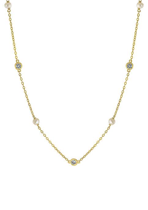 Belk Silverworks Gold Over Sterling Silver 3 Millimeter