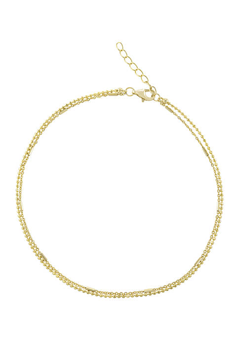 Belk Silverworks Yellow Gold Over Sterling Silver 2