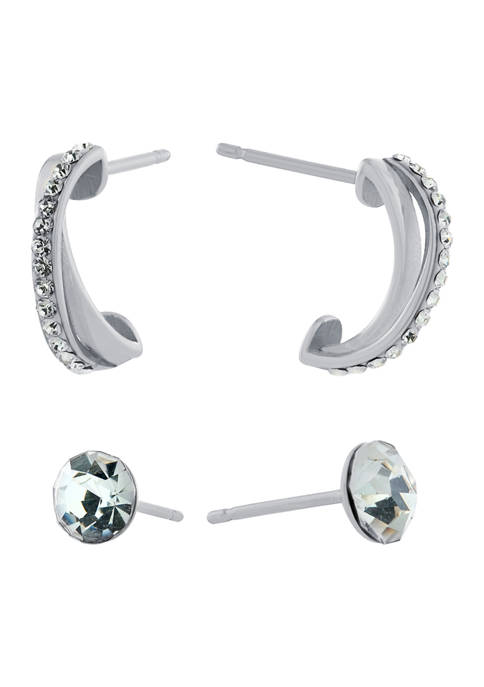 Belk Silverworks Fine Silver Plated 6 Millimeter Crystal
