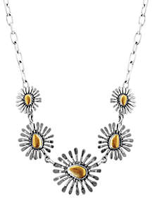 Floral Frontal Necklace