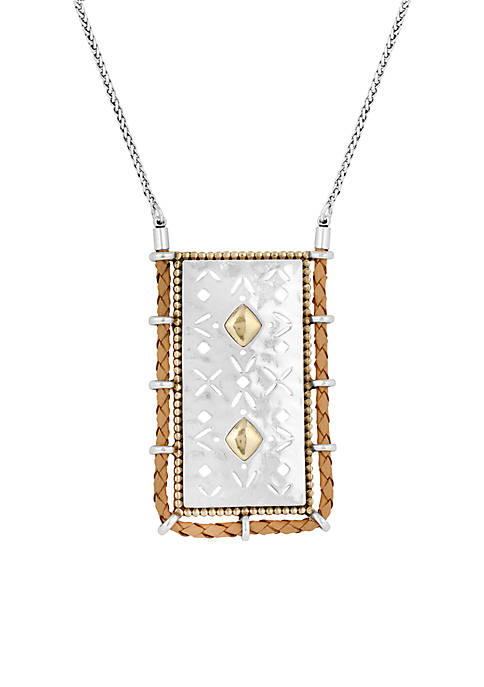 Lucky Brand Tribal Pendant Necklace