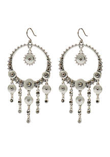 Pave Chandelier Statement Earring
