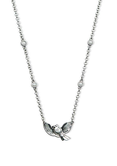 Bird Charm Collar Necklace