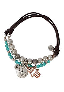 Elephant Stretch Bracelet Set