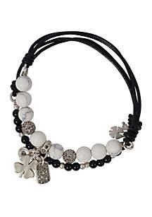 Good Luck Charm Stretch Bracelet Set