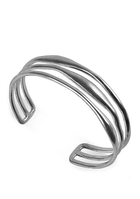 Lucky Brand Organic Multi Row Cuff Bracelet