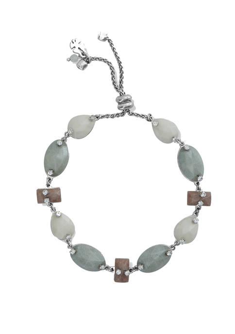 Lucky Brand Agate Gemstone Bracelet