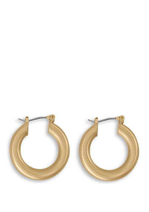 Midi Tubular Hoop Earrings