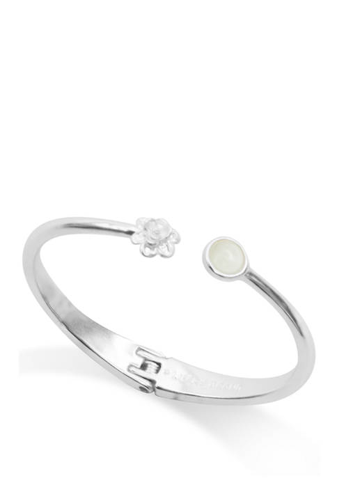 Lucky Brand Mop Stone Cuff Bracelet