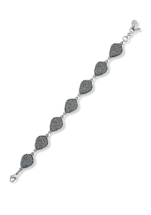 Diamond Druzy Flex Bracelet