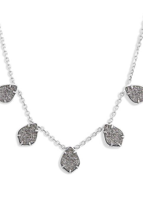 Diamond Druzy Collar Necklace