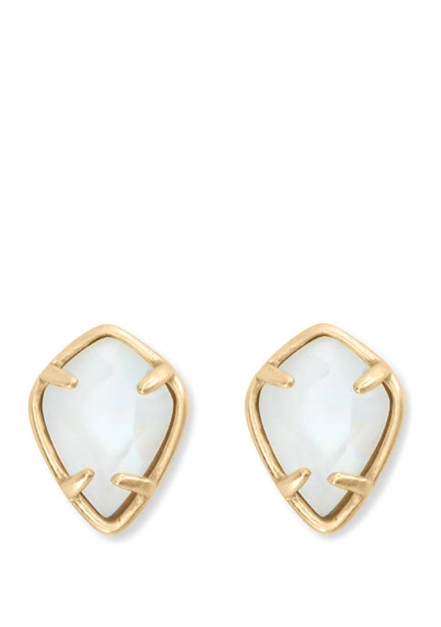 Lucky Brand Mother of Pearl Stud Earrings