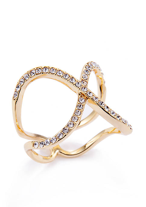 Crystal Open X Band Ring