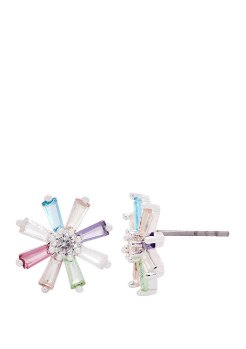 New Directions® Lab Created Cubic Zirconium Crystal Baguette
