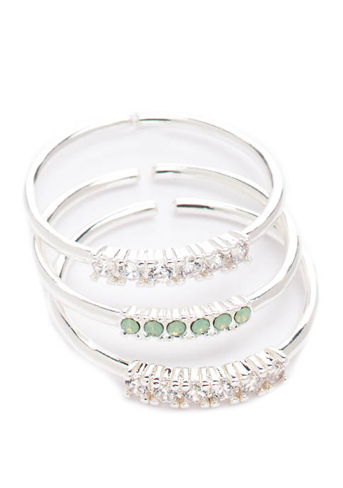 Round Stack Rings