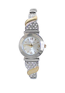 2 Tone Expansion Glitz Watch