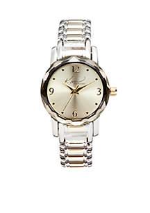 Women's Two-Tone Analog Bracelet Watch