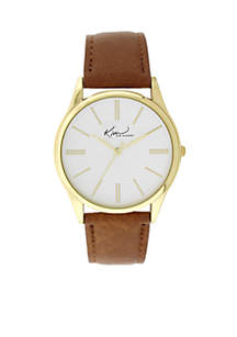 Women's Gold-Tone Brown Classic Watch
