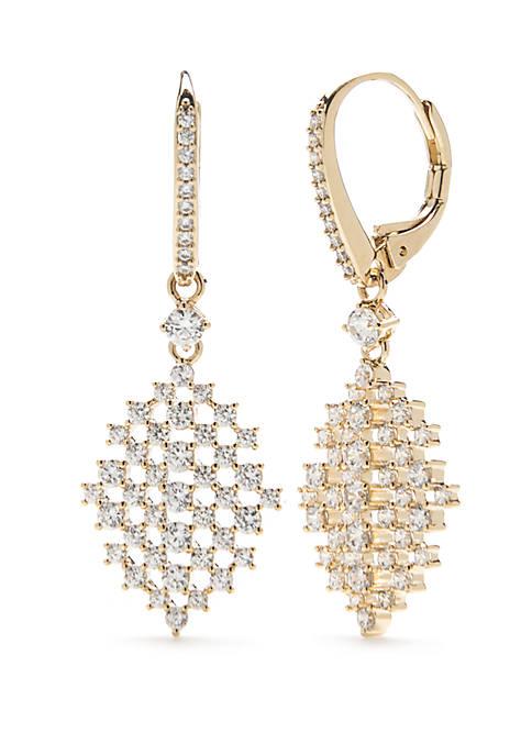 Crystal Lattice Earrings