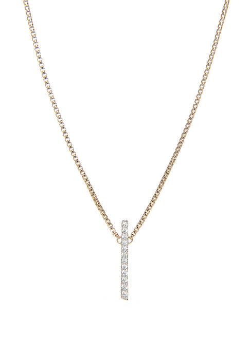 Ripple Bar Necklace