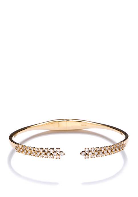 Mila Bottom Hinged Bracelet