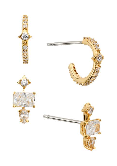 Nadri 1.58 ct. t.w. Cubic Zirconia Earring Set