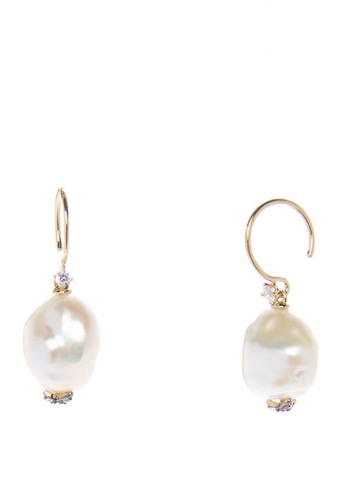 Liv Pearl Drop Earrings