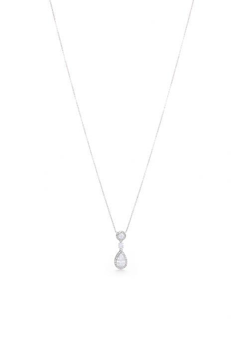 Multi Framed Pendant Necklace