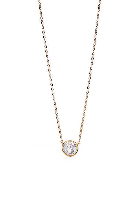 Nadri Gold-Tone Pendant Necklace