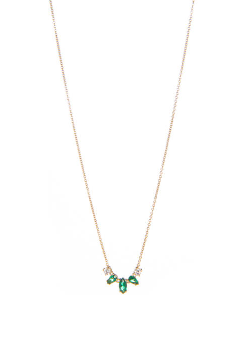 Eliza Green Small Necklace