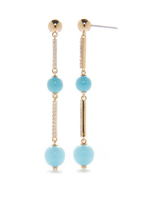 La Jolla Ball Linear Earrings