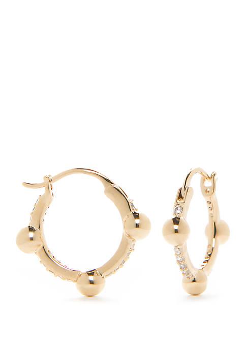 La Jolla Small Hoop Earrings
