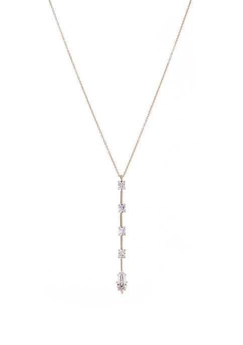 Eliza Pendant Y Neck Necklace