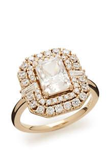 Revel Cubic Zirconia Statement Ring