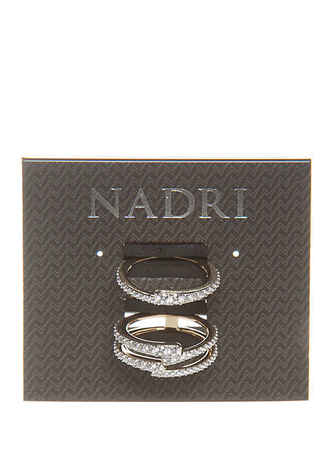 Ripple Stackable Ring Set