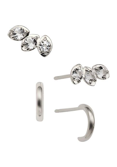AVA Nadri Ava East Wed Stud Earring Set