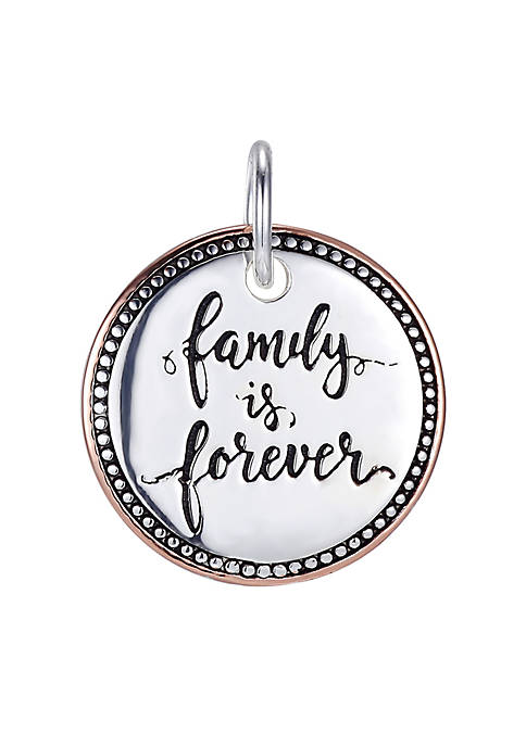Belk Silverworks Family Is Forever Two Tone Round