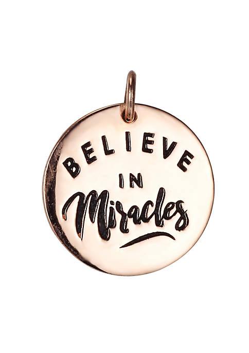 Belk Silverworks Southern Charm Believe In Miracles Rose