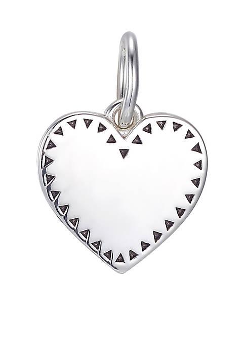 Belk Silverworks Southern Charm Sterling Silver Heart Charm