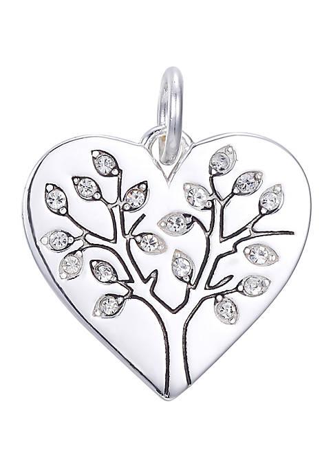 Belk Silverworks Southern Charm Heart Cubic Zirconia Tree
