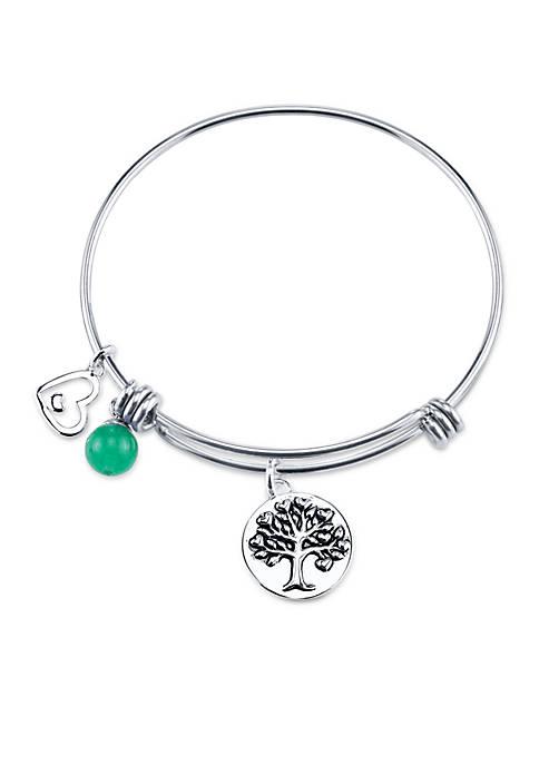 Belk Silverworks Family Bangle Bracelet