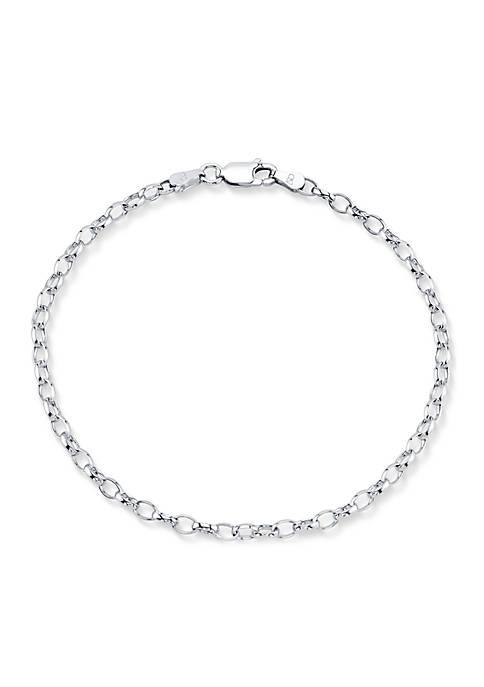 Belk Silverworks Southern Charm Sterling Silver Chain Link