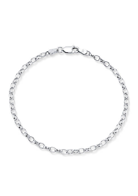 Belk Silverworks Southern Charm Sterling Silver Chain Link