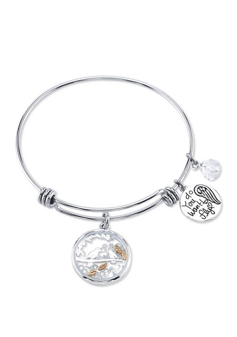 Belk Silverworks Adjustable Bird Bangle